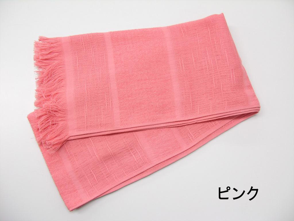 コットンマフラー(ピンク)